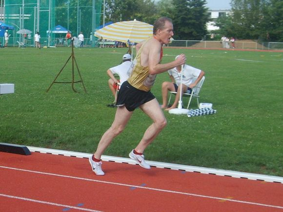 Andreas Schramm auf der Strecke